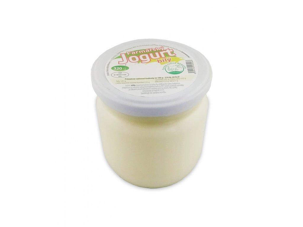 jogurt bily 320g nemcovi