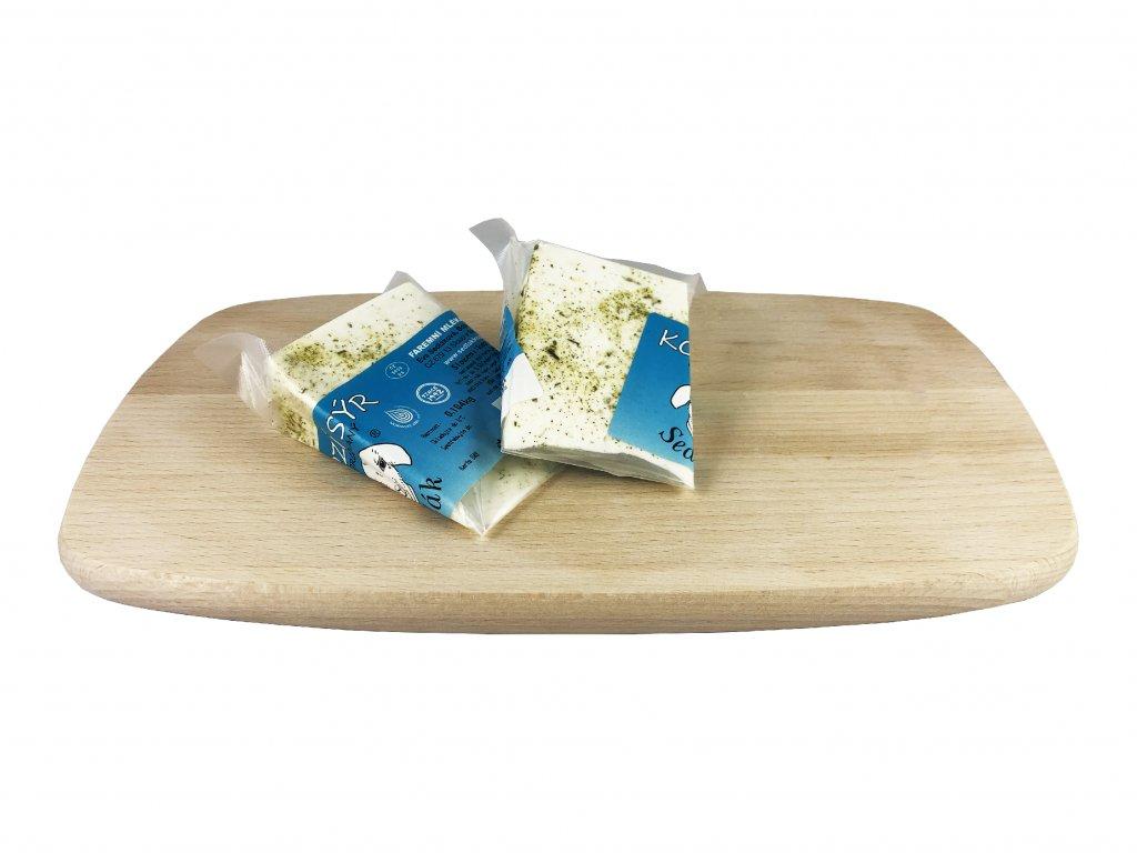 sýr výseč bylinky
