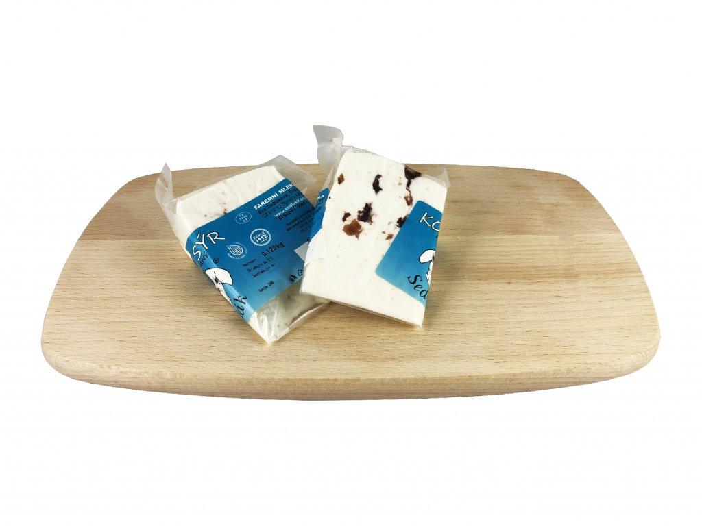 sýr výseč brusinka