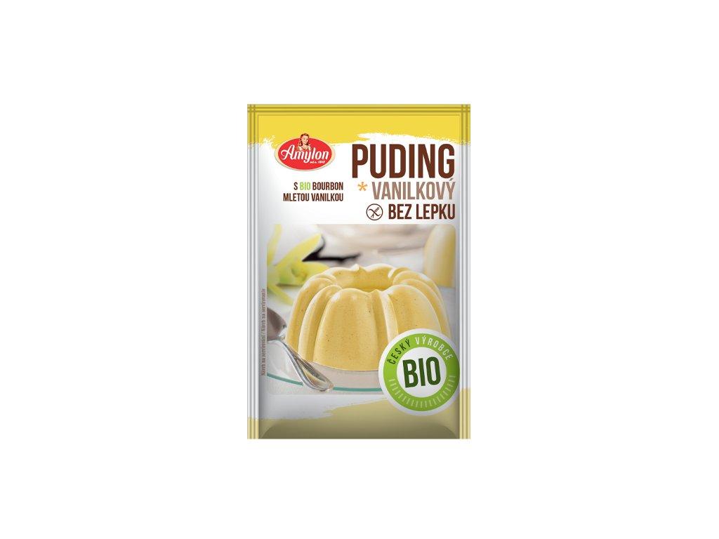 BIO vanilka puding