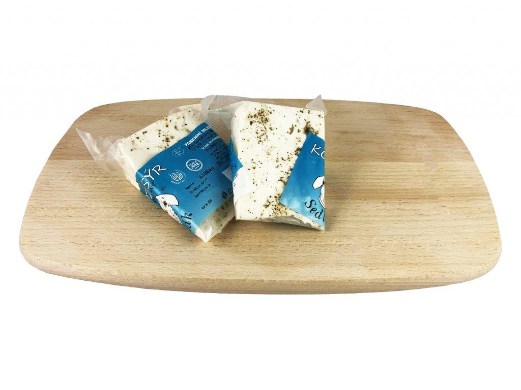 sýr výseč francouzské bylinky