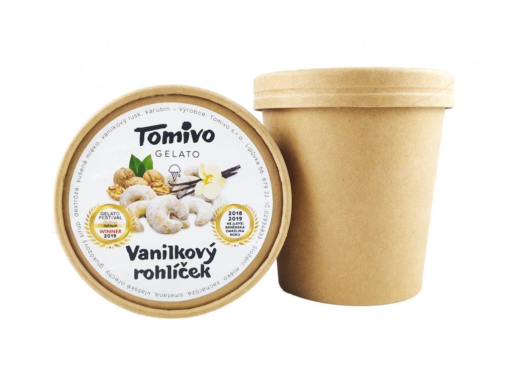 tomivo vanilkovy rohlicek