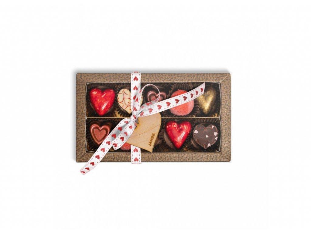 krabička valentýn