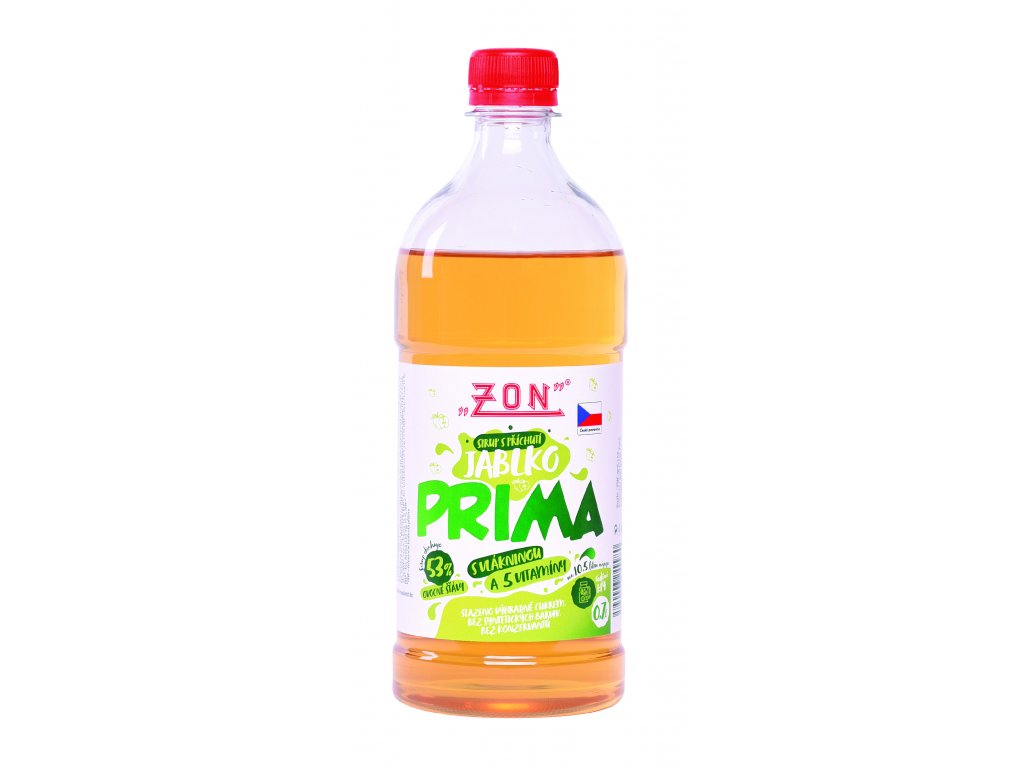 ZON sirup PRIMA Jablko 0,7