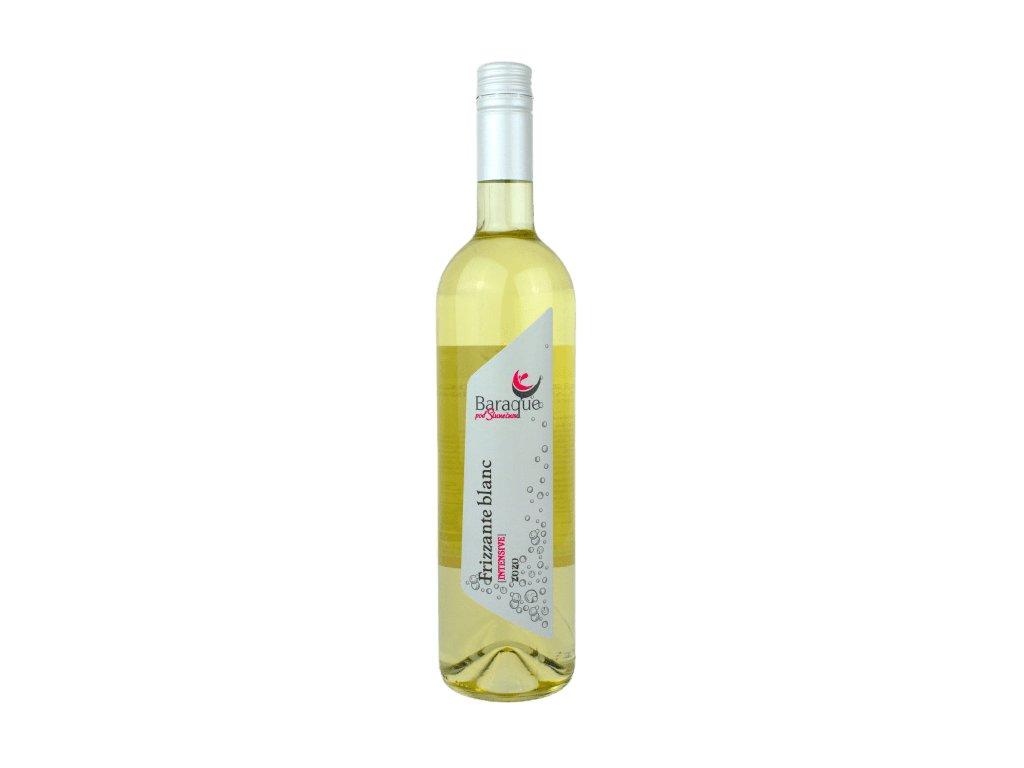 Frizzante blanc vinarstvi baraque vino