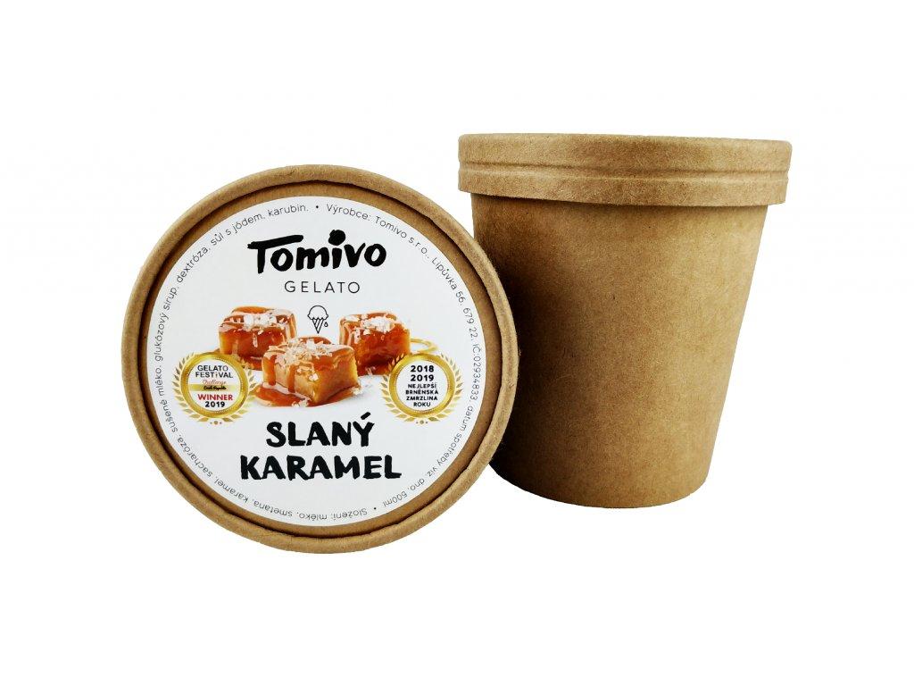 slaný karamel