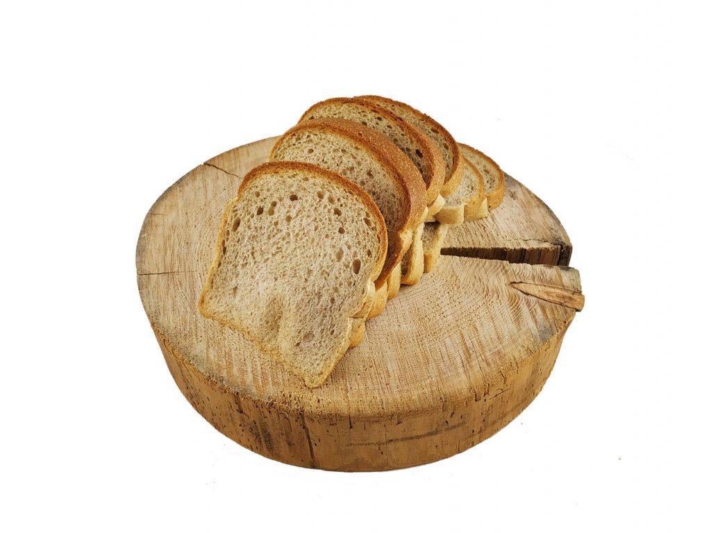 protein toast půl