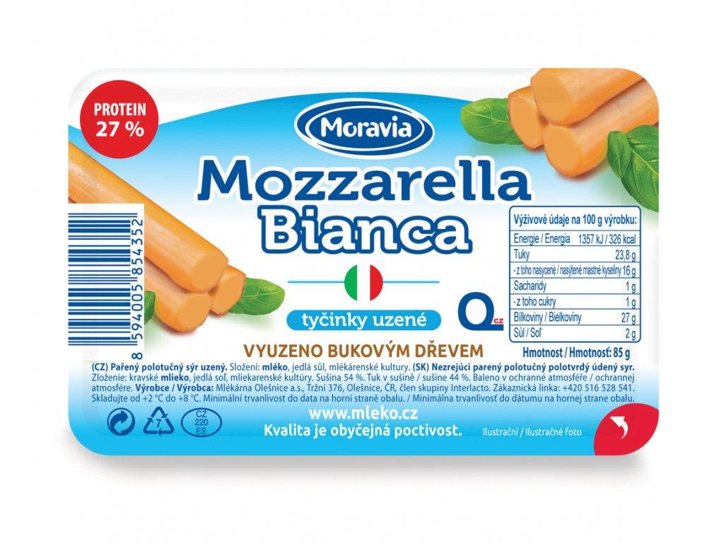 Mozzarella tycinky uzene 3D