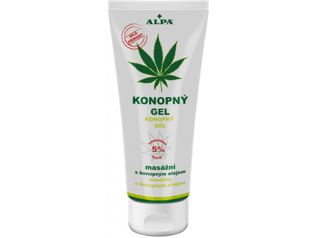 ALPA gel konopný 100 ml