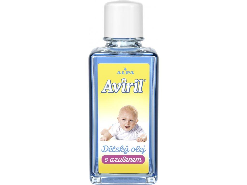 AVIRIL s azulenem dětský olej 50 ml