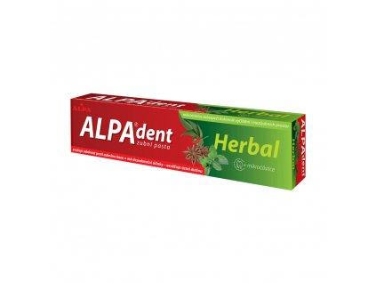 ALPA - dent HERBAL zubní pasta s mikročásticemi 90 g