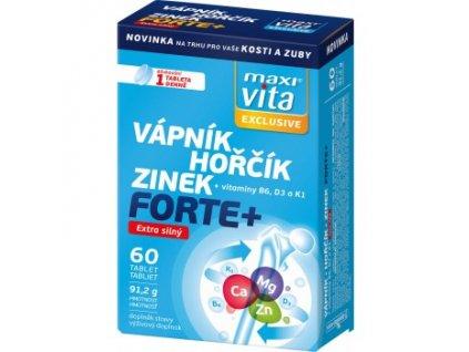 maxivita exclusive vapnik horcik zinek forte