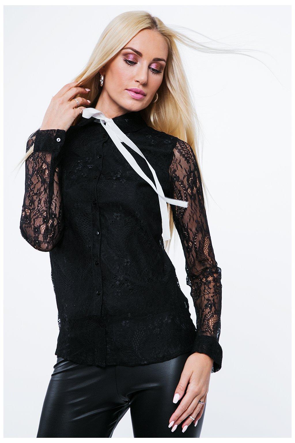 Dámská košile Fasardi s krajkou na zádech