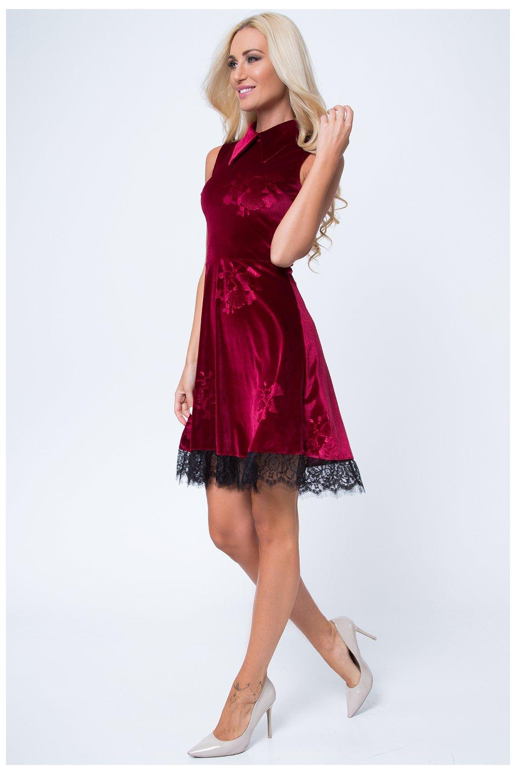 Dámské šaty Fasardi s krajkou