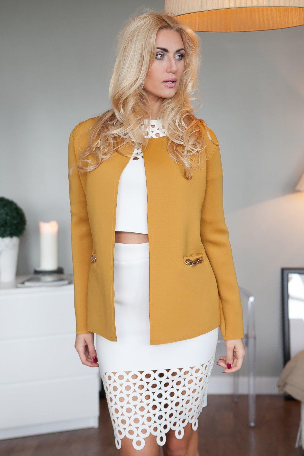 Dámský elegantní kabát Fasardi