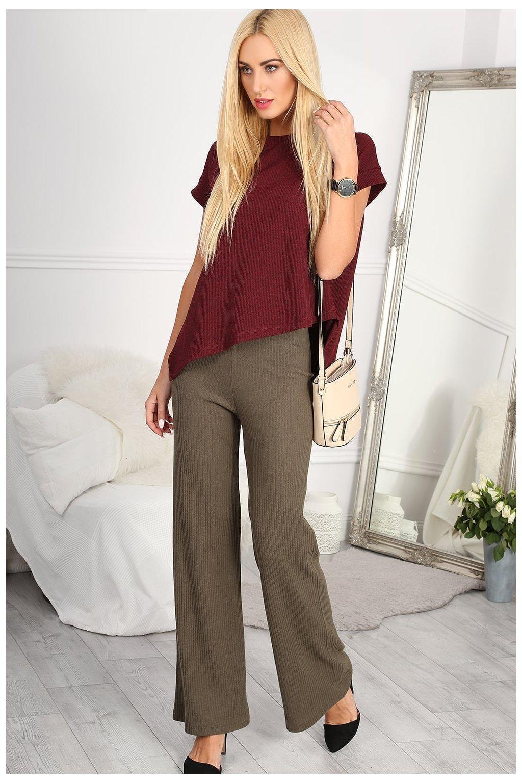 Khaki kalhoty Fasardi