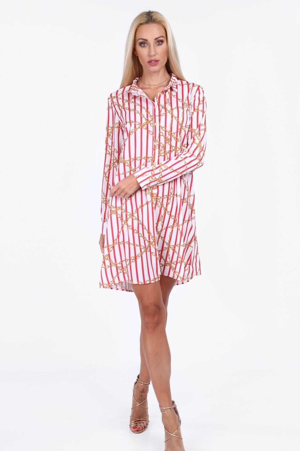 Dámské košilové šaty Fasardi