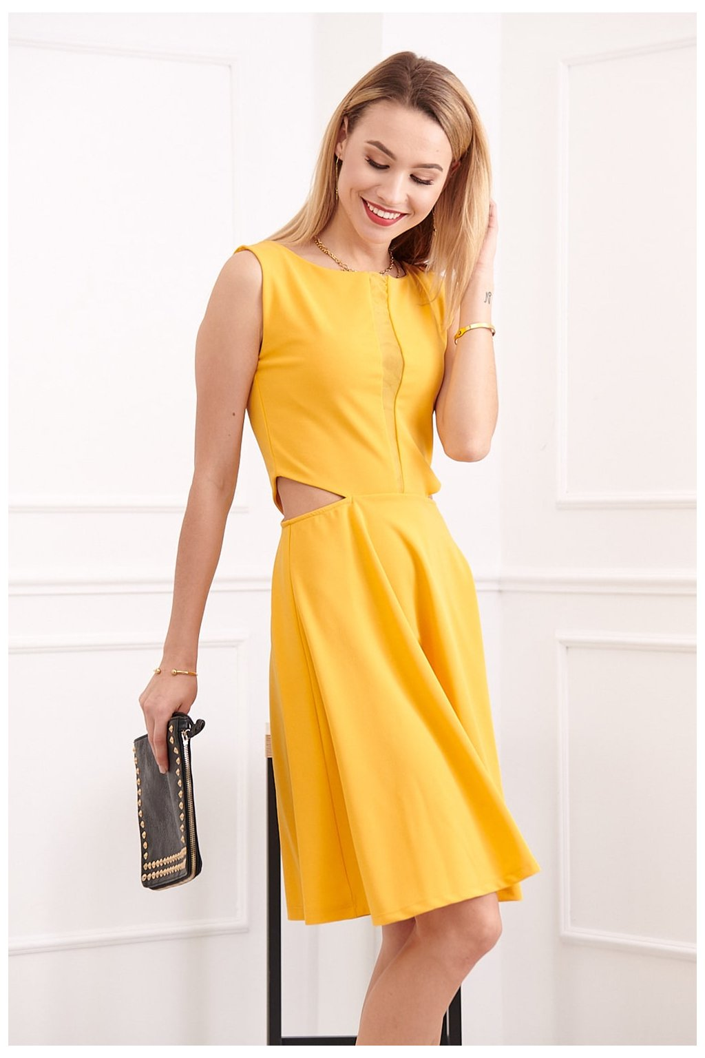 Žluté šaty Fasardi