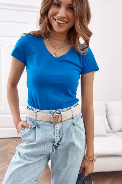 Modré triko Fasardi