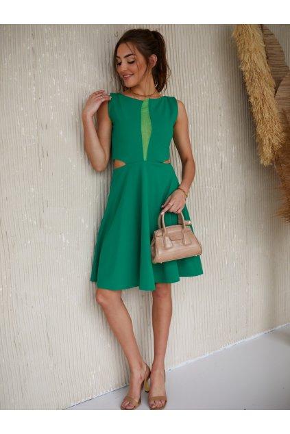 Zelené šaty Fasardi