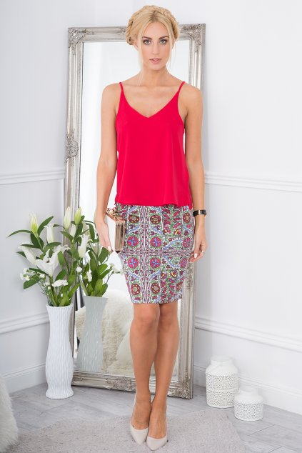 Dámská sukně s ornamenty Fasardi
