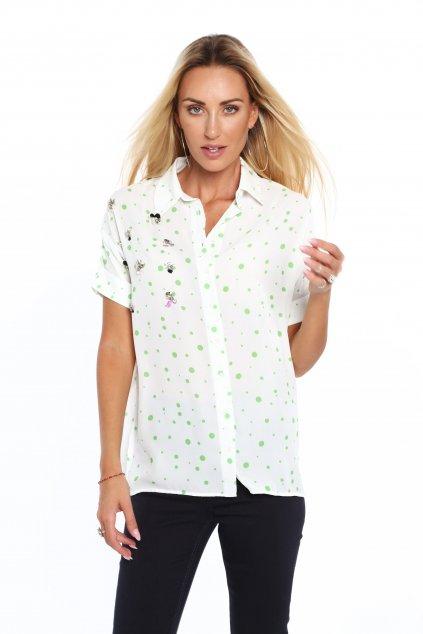 Dámská vzorovaná košile Fasardi