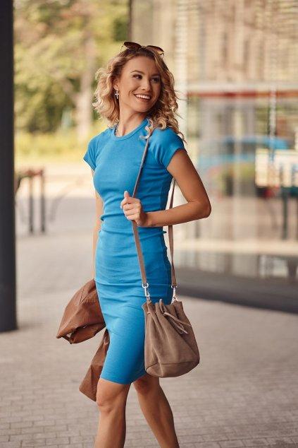 Sportovní šaty kobaltové Fasardi