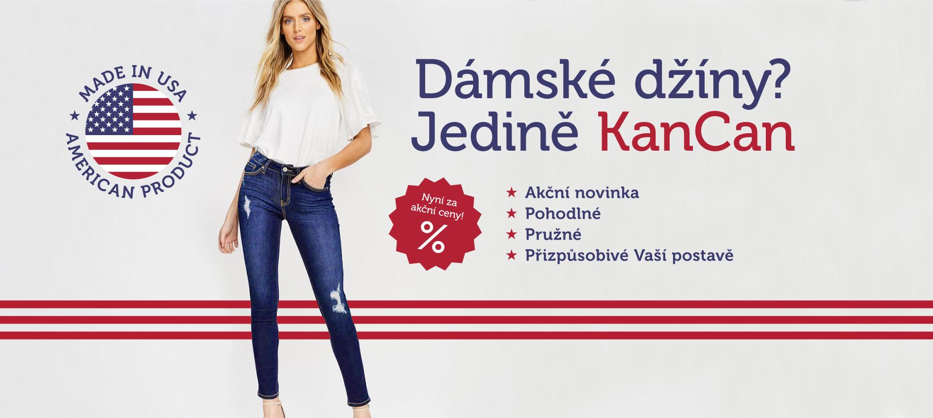 KanCan USA džíny