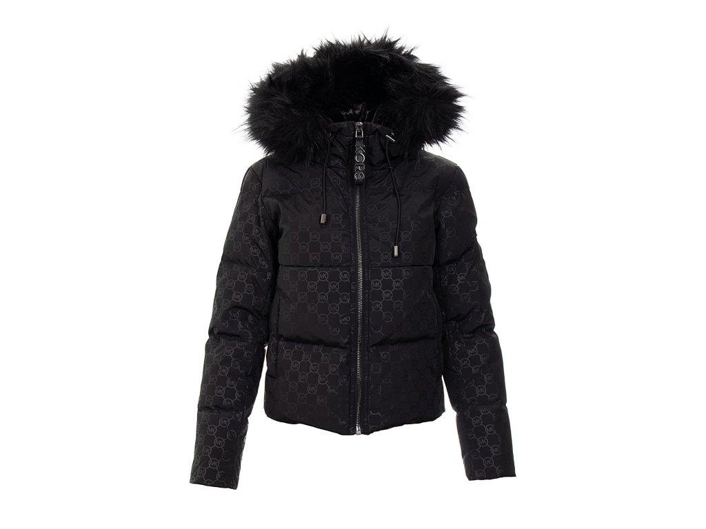 MK79 Michael Kors dámská péřová bunda černá (1)