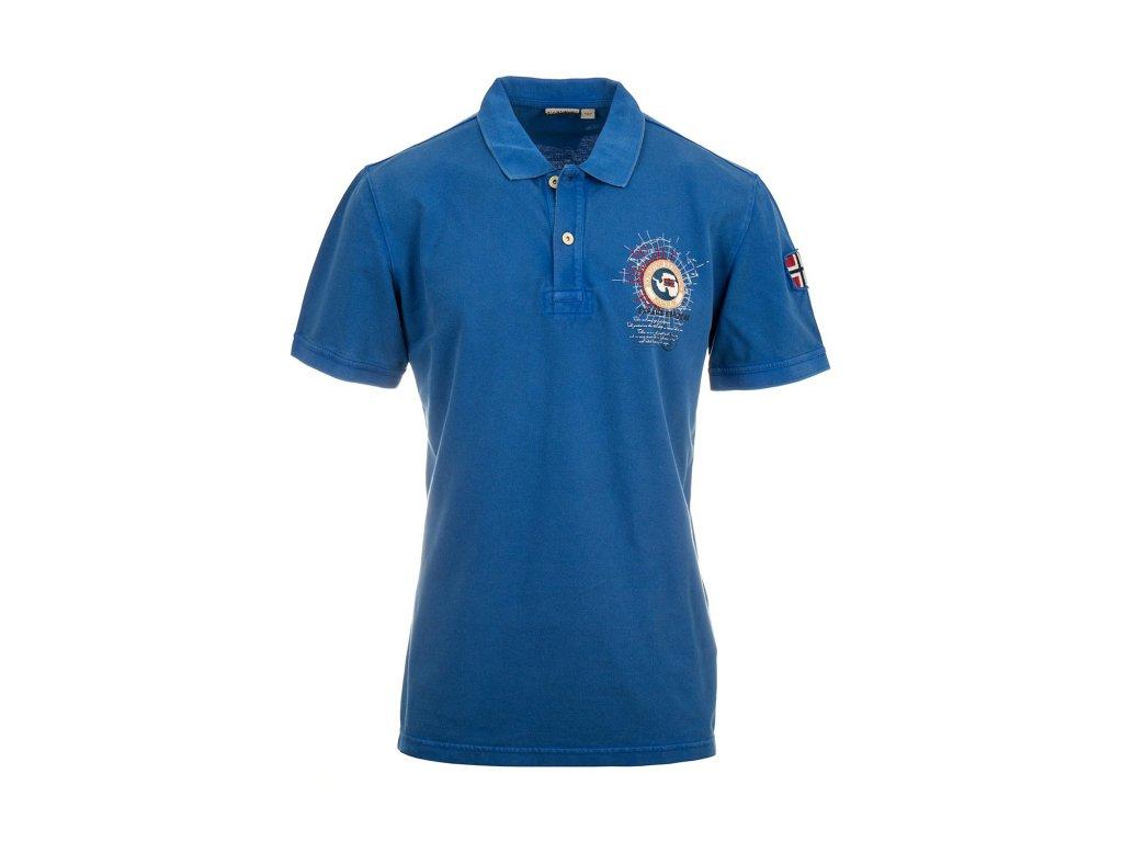 NA214 Napapijri pánské polo tričko modré (2)