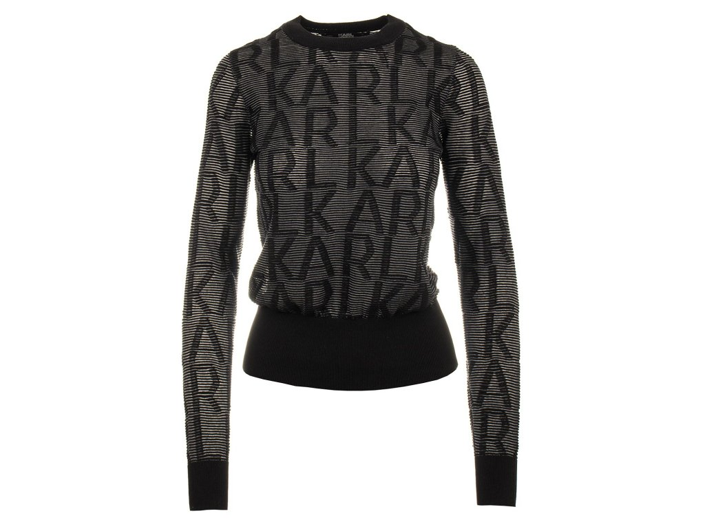 KL57 Karl Lagerfeld dámský svetr (2)