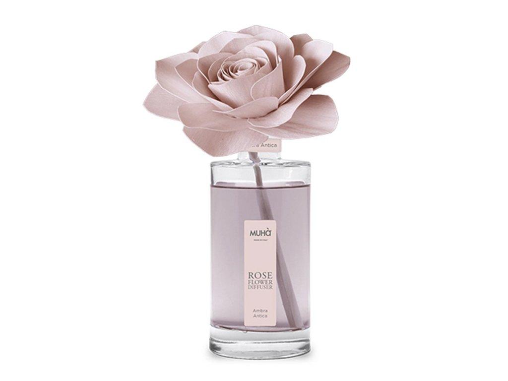 profumatore per la casa perfume diffusor rosa 200ml ambra antica
