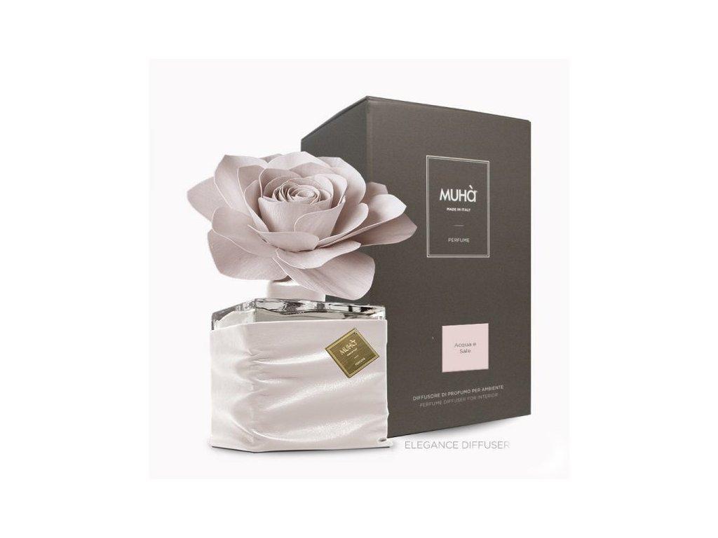 H905 MUHA Elegance Rose difuzér Acqua e Sale 500 ml
