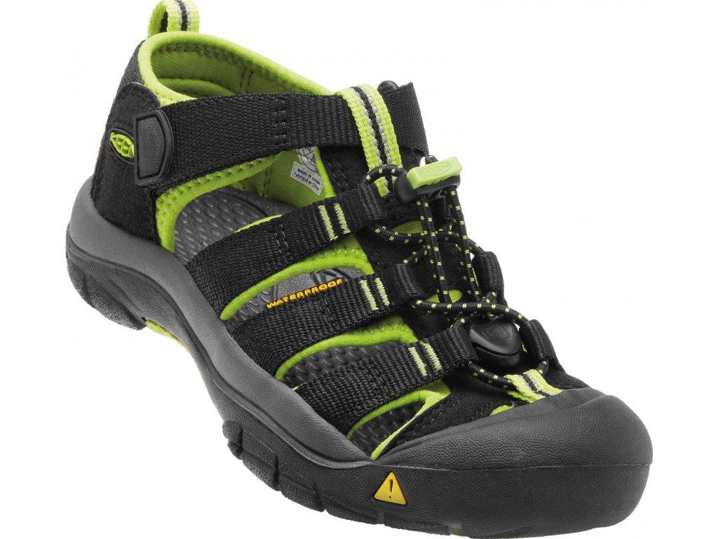 KN1 Keen dětské boty černé