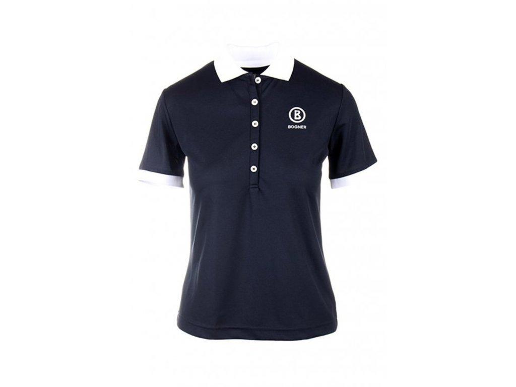Bogner dámské polo tričko černé