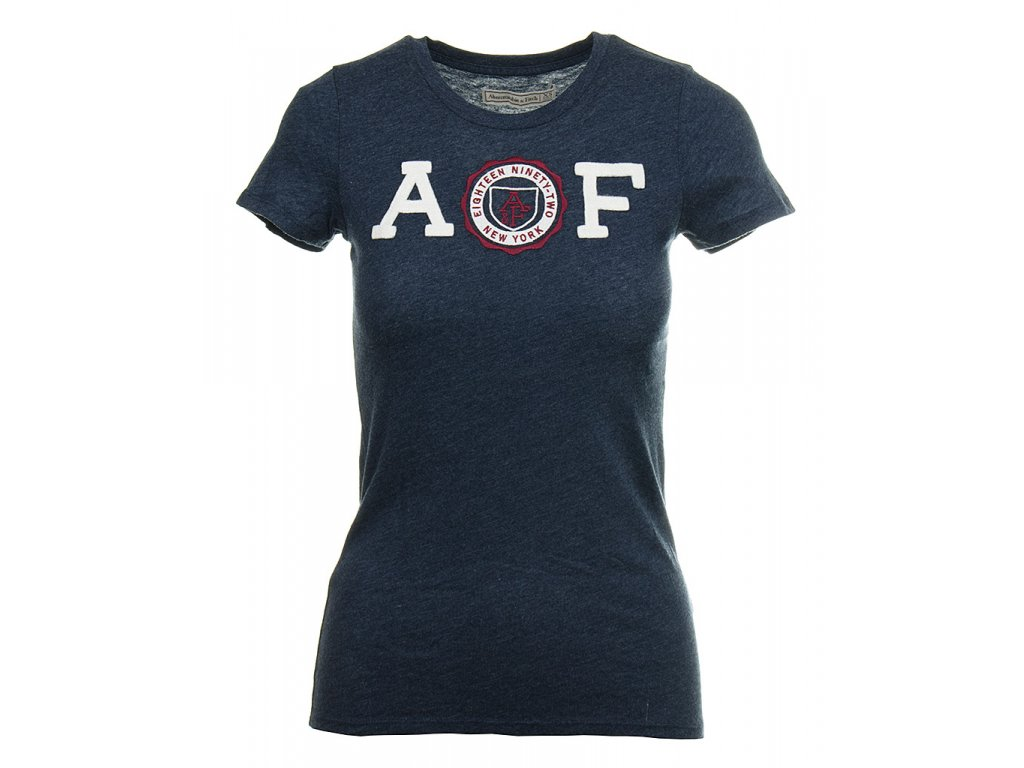 AB14 Abercrombie dámské tričko modré (1)