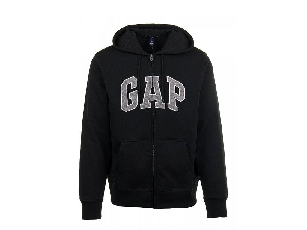 GP10 GaGap pánská mikina černá s kapucí