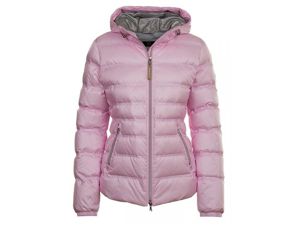 Bogner dámská péřová bunda růžová