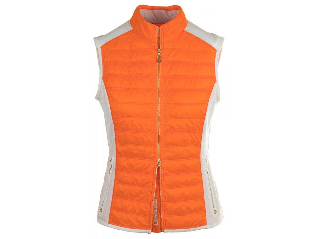 BG12 Bogner dámská vesta oranžová