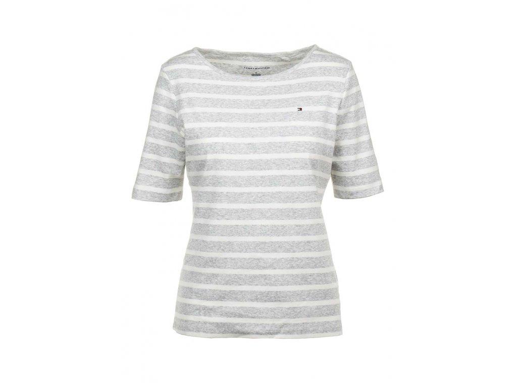 TH28 Tommy Hilfiger dámsko tričko pruhované (1)