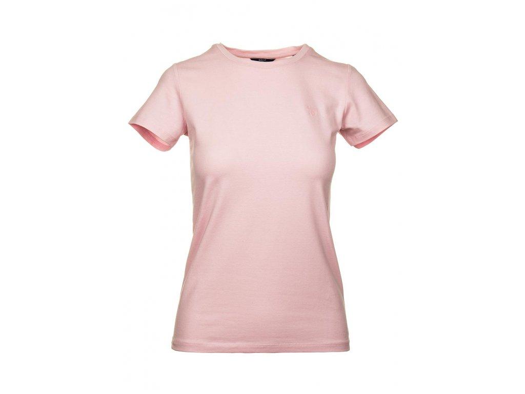 G60 Gant dámské tričko růžové (1)