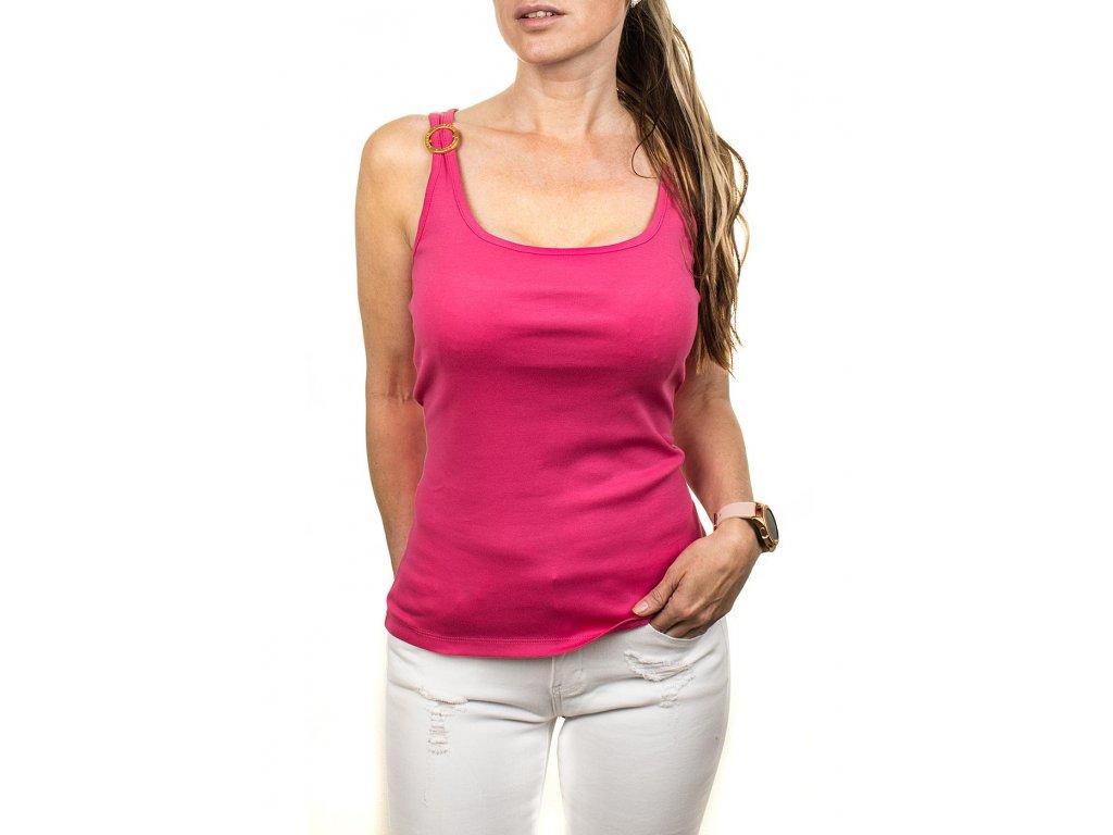 RL68 Ralph Lauren dámské tílko růžové (1)