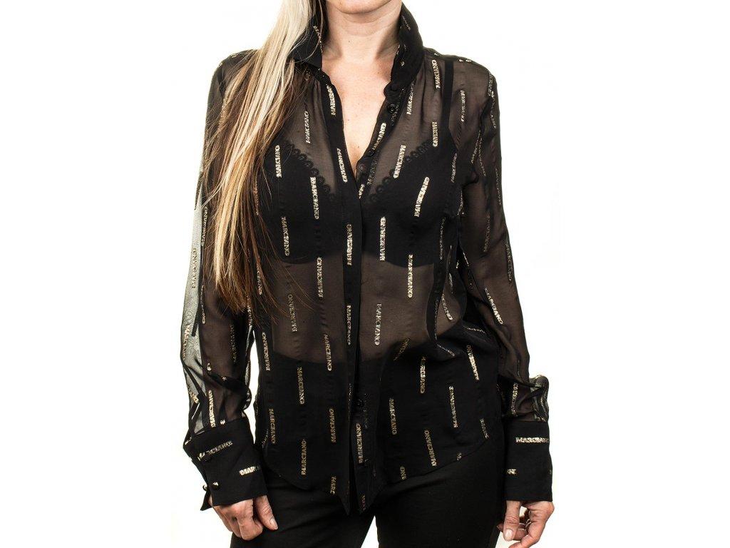 GU236 Guess dámská košile černá (1)