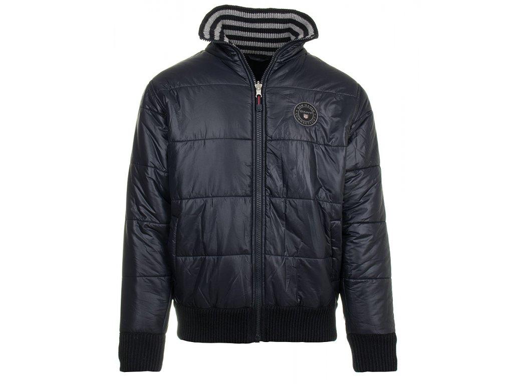 G53 Gant pánská bunda modrá (1)