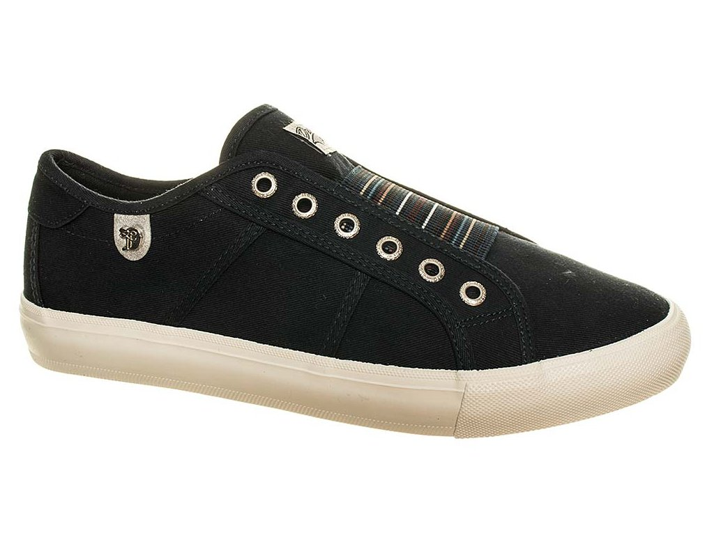 TT1 Tom tailor dámské tenisky černé (1)
