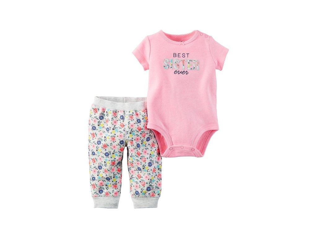 CR37 Carters dětský set růžový
