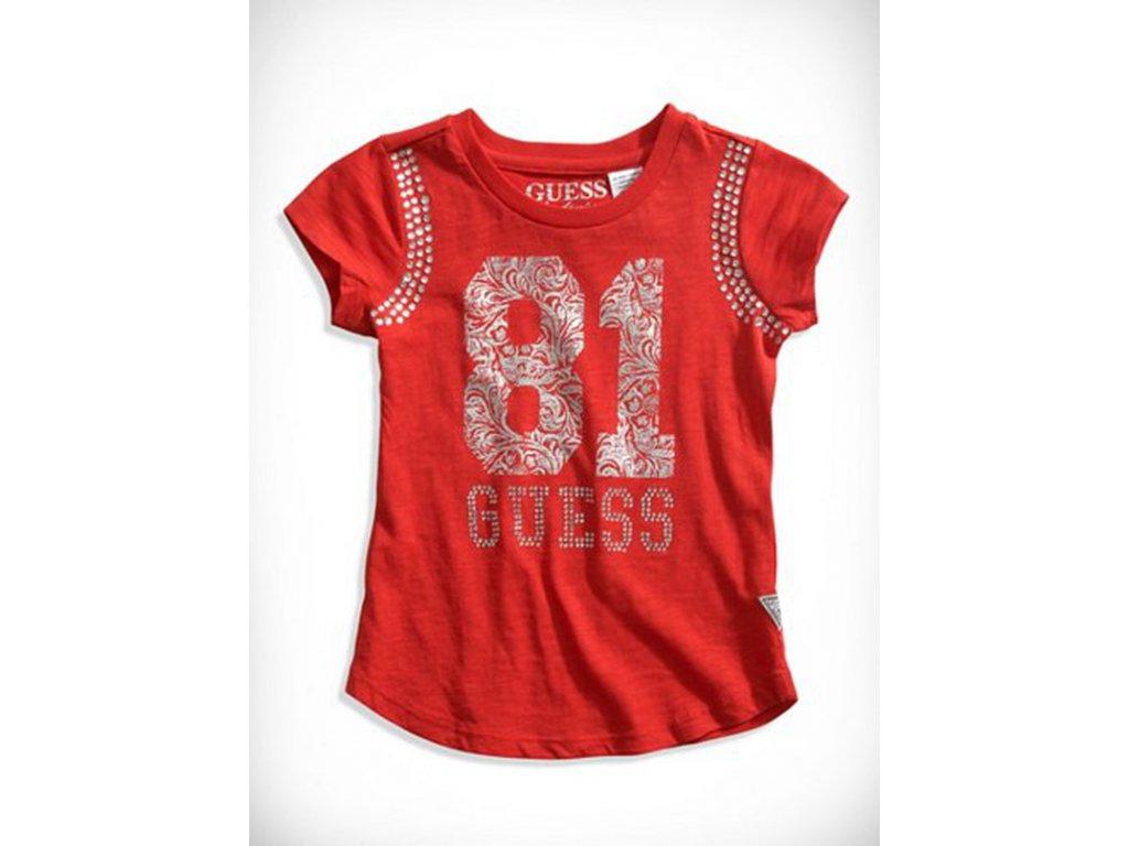 GU78 Guess dětské tričko červené