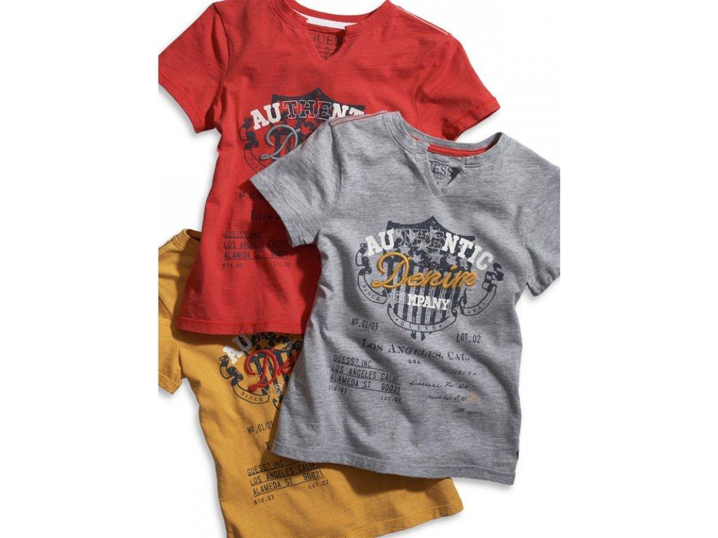 GU95 Guess dětské tričko šedé