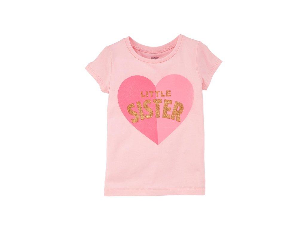 CR45 Carters dětské tričko růžové