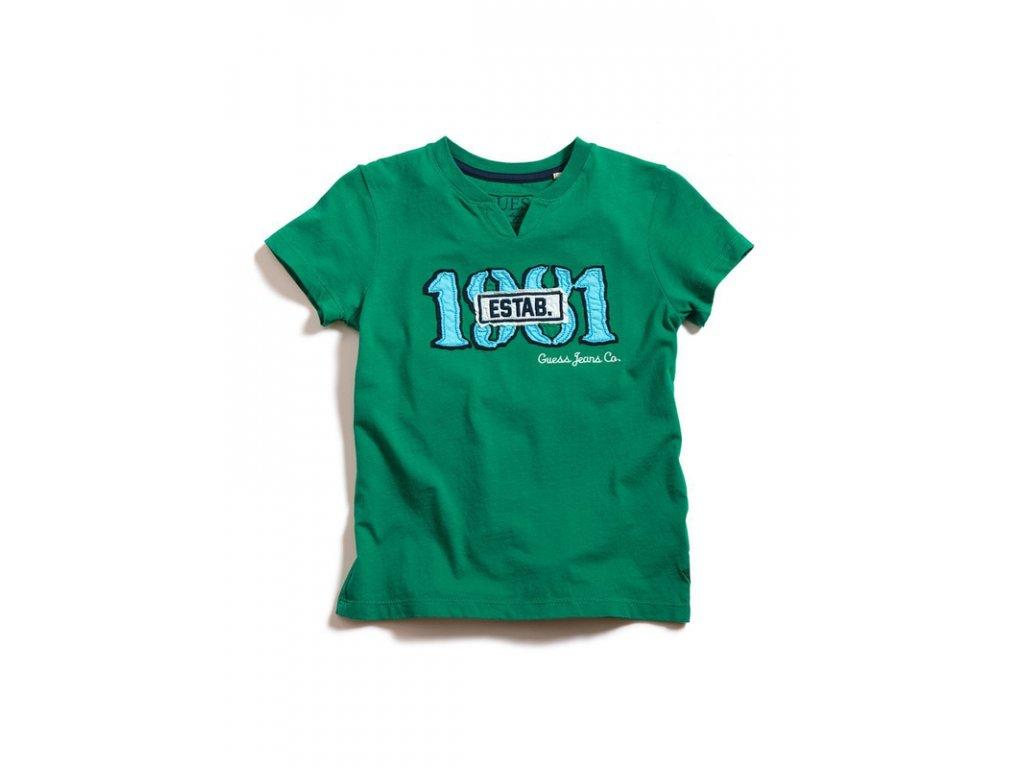 GU100 Guess dětské tričko zelené